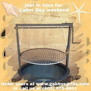 Gabby grills perfect for labor day weekend